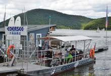 The Edersee Ferry Scheid-Rehbach