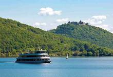 A trip aboard a passenger ship with the 'Personenschifffahrt Edersee'