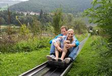 The Summer Sledding Track Edersee