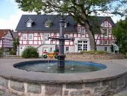 The fountain at the local history museum in Allendorf (Eder)