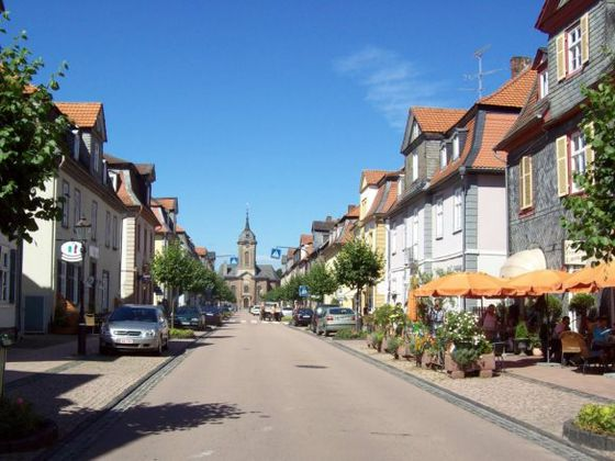 The Schlossstraße in Bad Arolsen