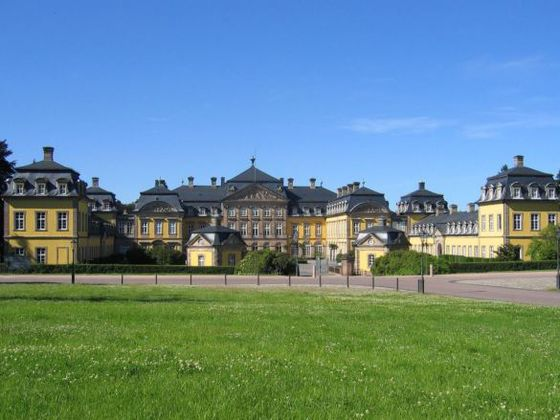 The baroque Residenzschloss in Bad Arolsen