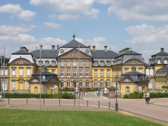 The castle in Bad Arolsen