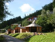 The adventure camp at the Edersee in the forest