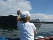 The passenger ship on the Edersee