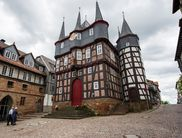 The town hall of Frankenberg has 10 spires