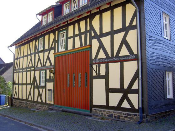Timber framing in Hatzfeld