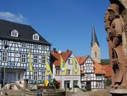 The old town of the Hanseatic town of Korbach