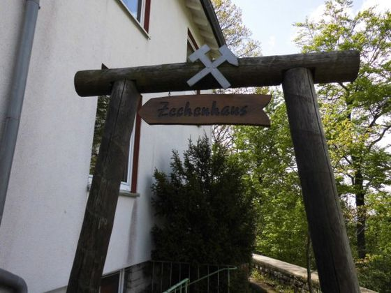 The 'Zechenhaus' in Korbach is the meeting point for tours of the gold mine