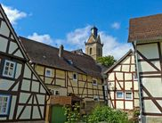 Beautiful timber framing in the old Hanseatic town of Korbach