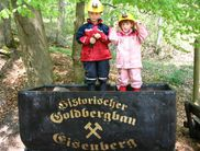 At the gold mine in Korbach-Goldhausen