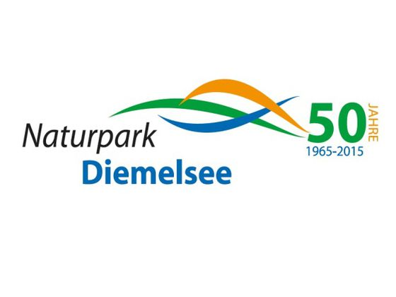 Logo '50 years of the Diemelsee Nature Park'