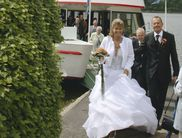 Celebrating a wedding on a passenger ship