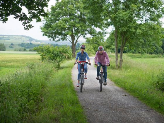 Biking on the Diemel Cycle Route