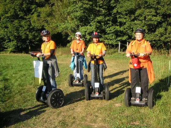 Segway is even more fun as a team!