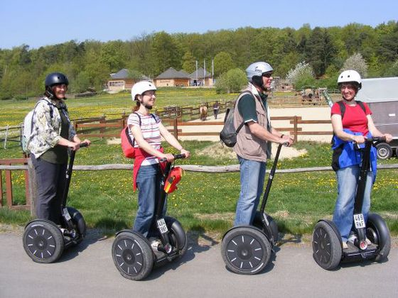 Segway tour along the 'Wildlife Park Edersee'