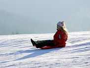Willingen is a true sledding paradise for children