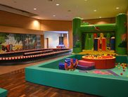 Indoor playground in the visitor center for kids up to 12 years